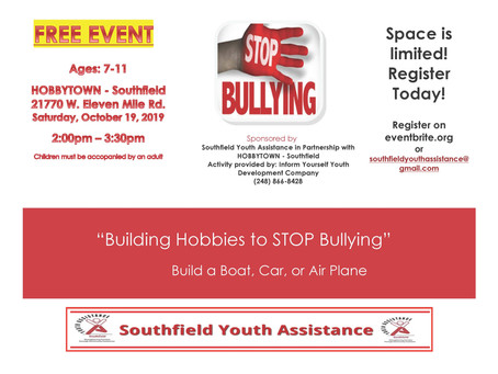 Building Hobbies to STOP Bullying