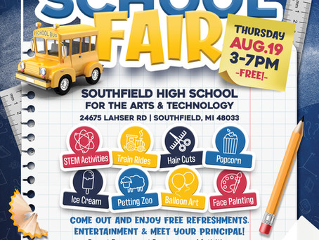 Join Southfield Youth Assistance Aug. 19th at the SPS Back2School Fair