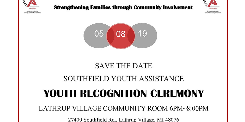 Youth Recognition Ceremony