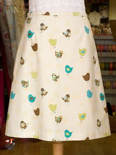 This timeless and flattering A-line Skirt, 4 week evening class, is suitable for beginners and improvers.  You only need to be able to use a sewing machine!
