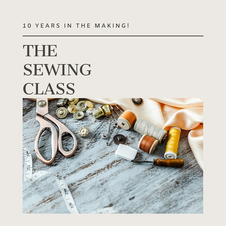 The Sewing Class (Nov) - Morning