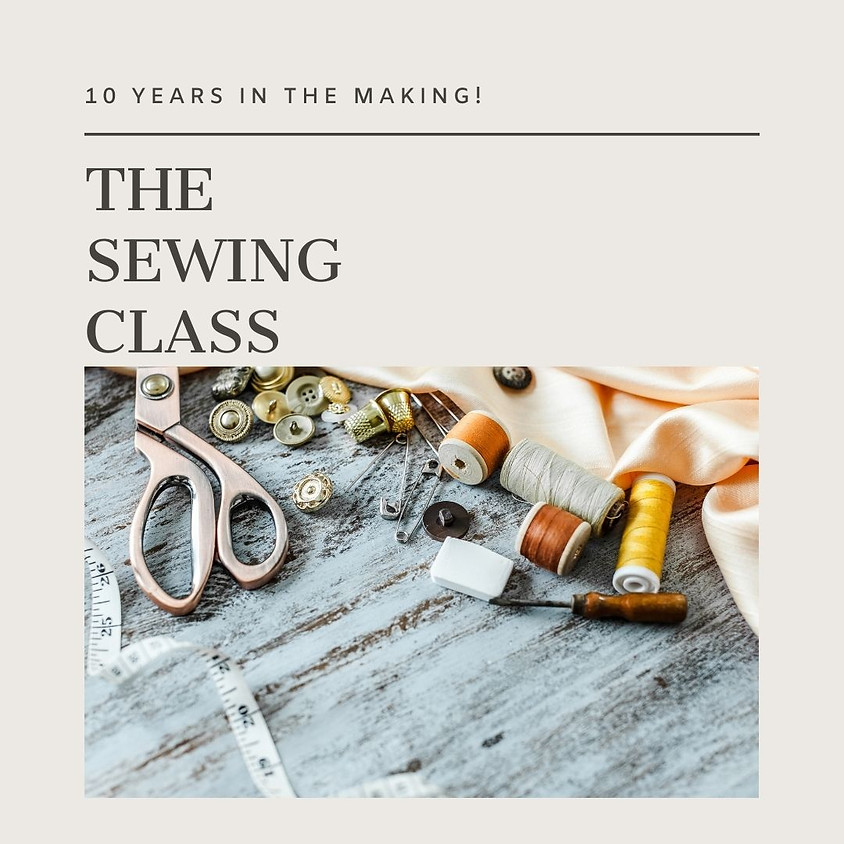 The Sewing Class (Jan) - Evening