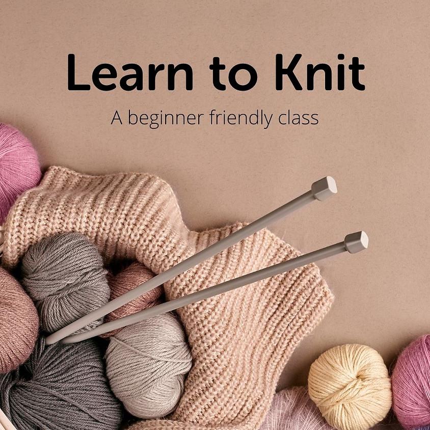 Evening Knitting Class