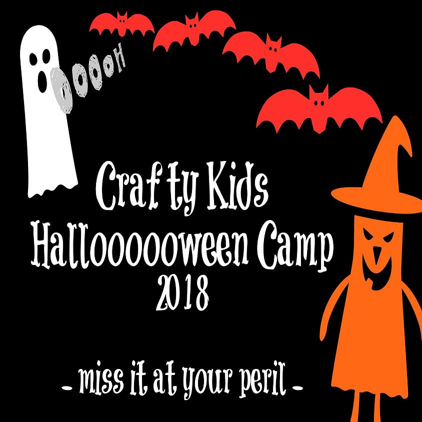 Crafty Kids Halloween Camp