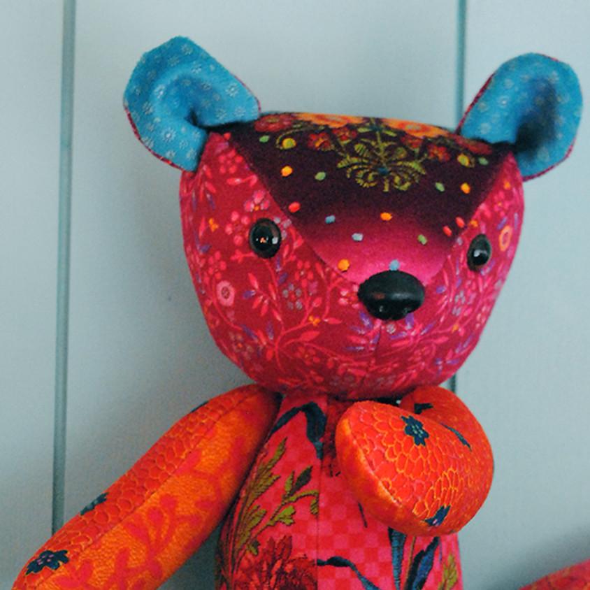Velvet Teddy Bear