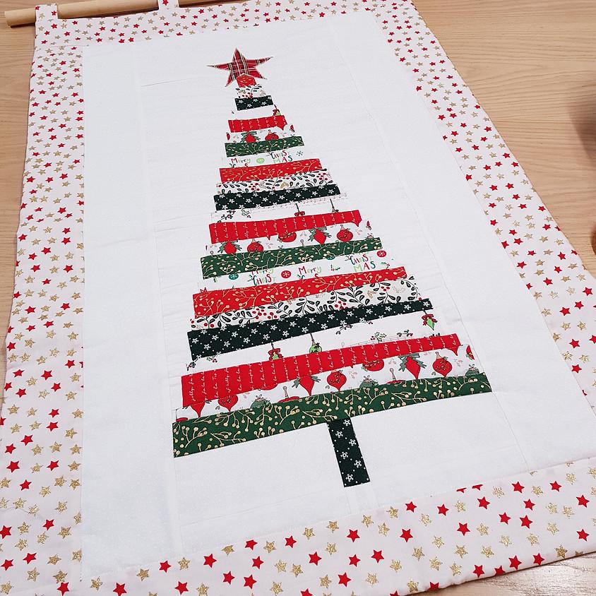 Christmas Tree Wallhanging - Morning