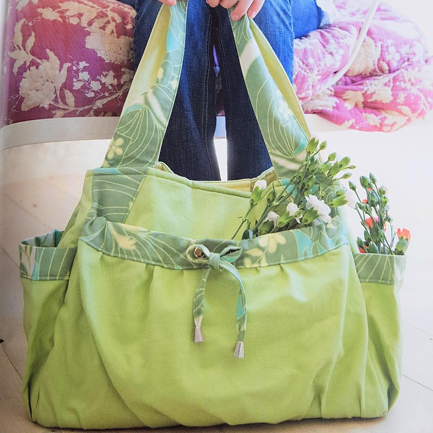 Multi-Pocketed Tote Bag