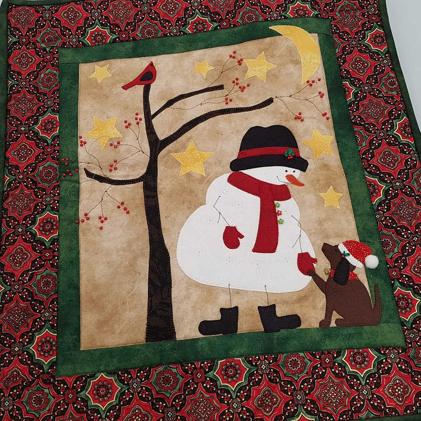 Frosty and Friend Wallhanging