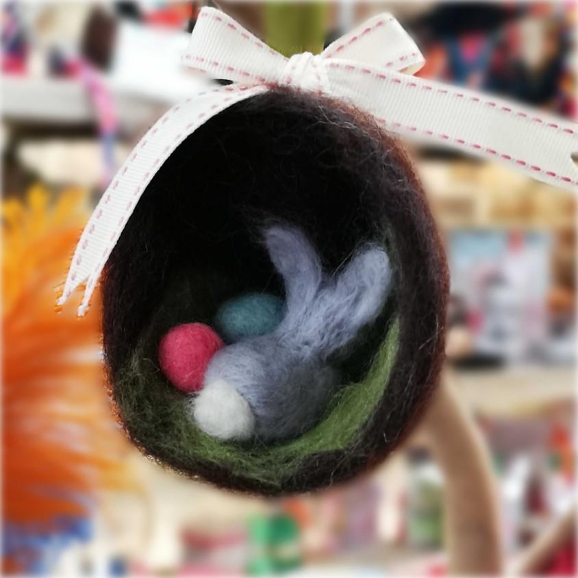 3-D Felted Nest