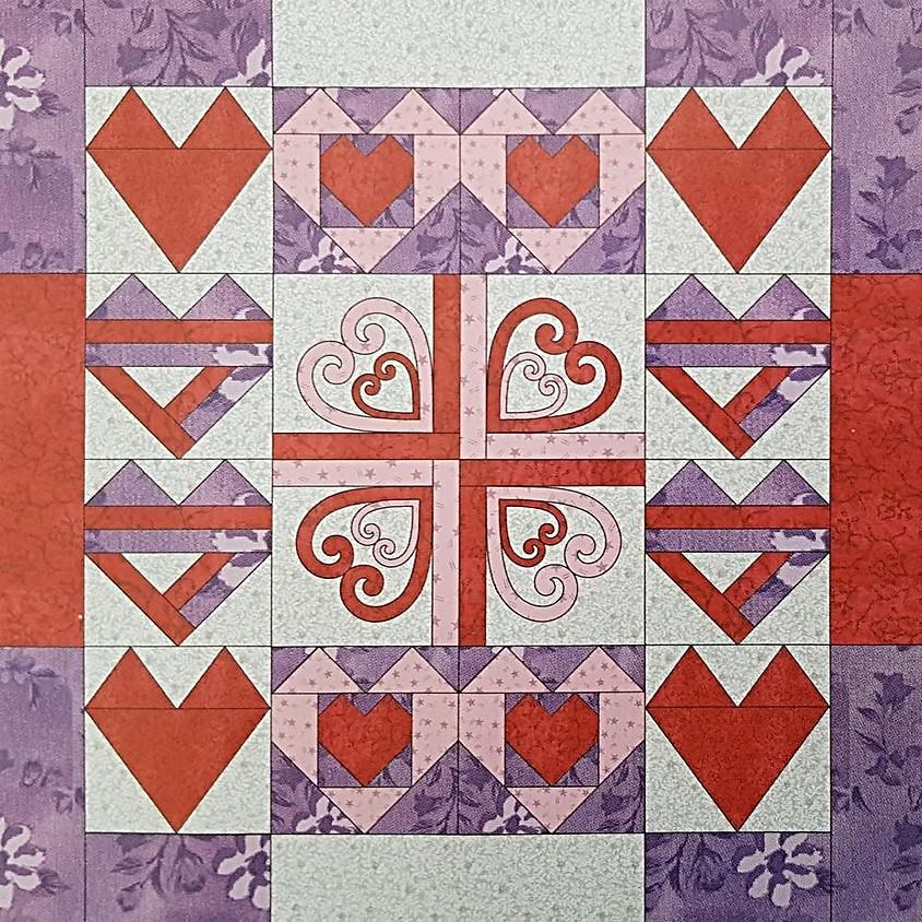 Hearts Sampler Quilt