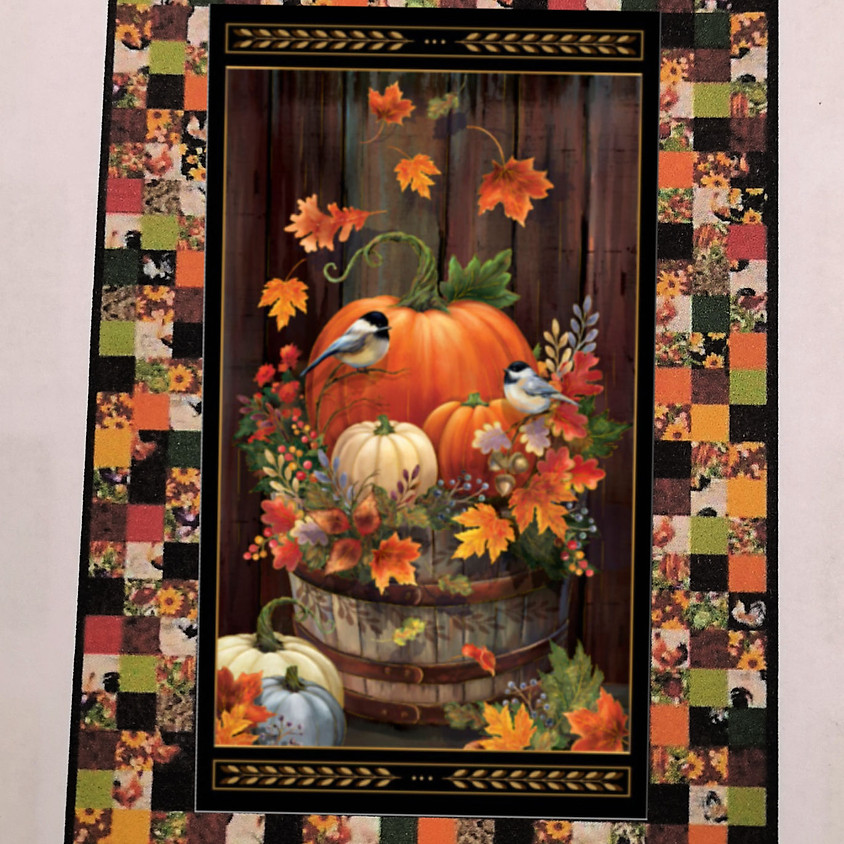 Autumnal Wallhanging