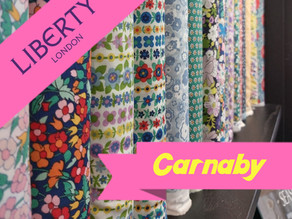 Liberty Fabric at The Crafty Fox!