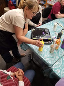 Sherry Wagner, Pour Painting Instructor
