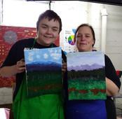 Painting Class with Sarah