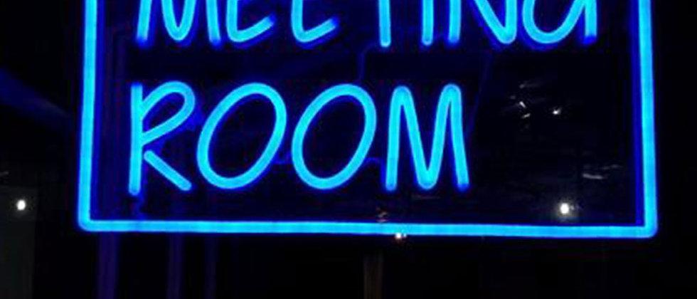 Aesthetic light up signs Indoor flexible neon strip light 3d fronlit letters