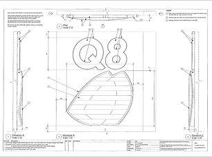 custom sign letter design