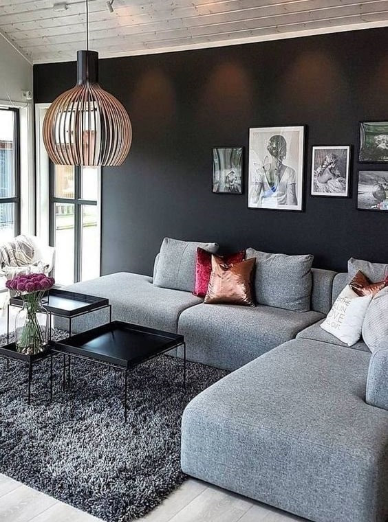 Small Living Room Rug Idea