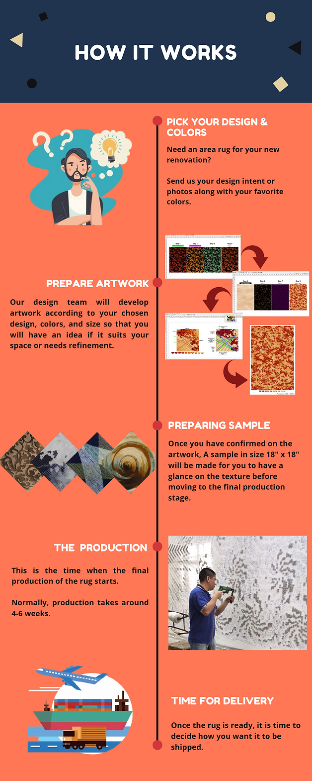 How to order an area rug