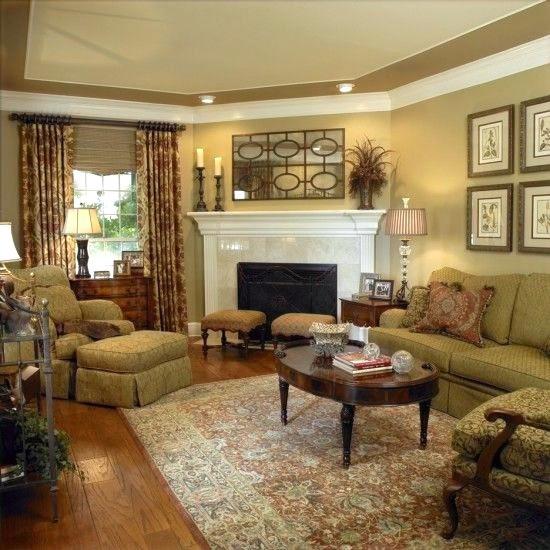 Oddly shaped Living Room Rug