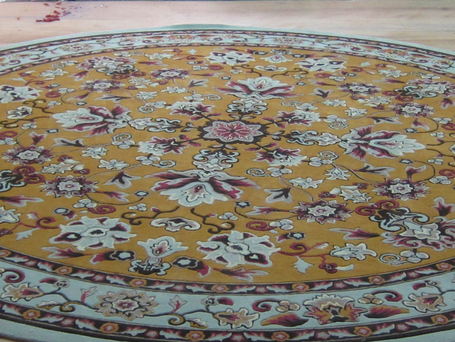 100% New Wool Hand Tufted Area Rug