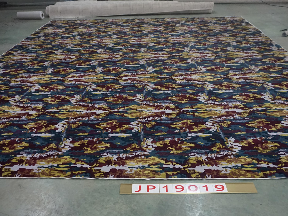 New Wool & Dull Silk Hand Tufted Area Rug