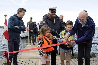 Tre royale generationer åbner bådfarten