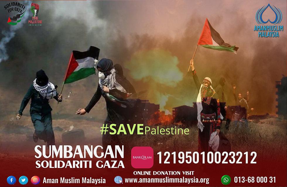 Save Palestine Aman Muslim Malaysia Camp