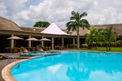 The royal Senchi pool side