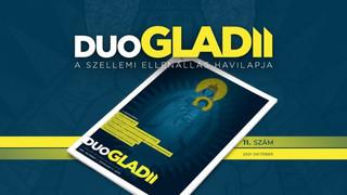 Régi Nagy Pátrónánkra emlékezik az októberi Duo Gladii