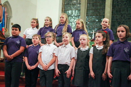 St Thomas' school choir