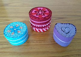 Quilled boxes