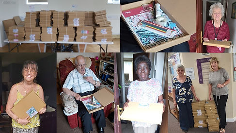 Activity boxes for older people July 202