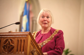 Mayor of Bolton, Elaine Sherrington