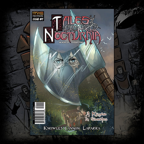 DIGITAL: TALES FROM NOCTURNIA: Issue 1 of 3 'A Kingdom In Shambles'