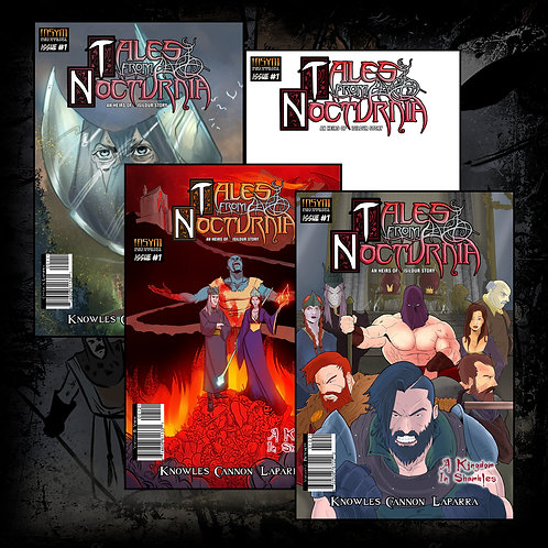 TALES FROM NOCTURNIA (Bundle): Issue #1 Covers ABCD Collectors Pack)