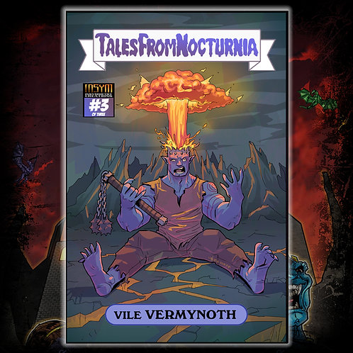 TALES FROM NOCTURNIA #3 of 3 (Cover B: GPK Homage Blasted Benonoch / OST