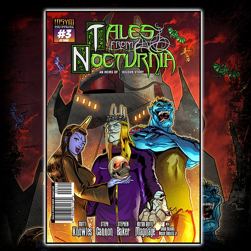 TALES FROM NOCTURNIA - Issue #3 of 3 (Cover A: Welcome To The Dragon's Lair'