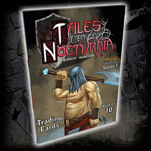 TRADING CARDS: INSYM Series #1 - TALES FROM NOCTURNIA (10 Pack)