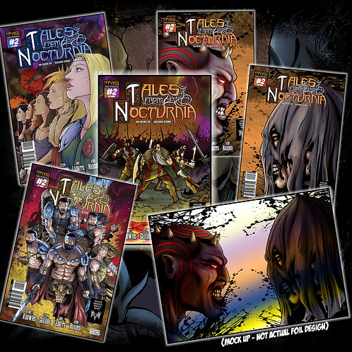 TALES FROM NOCTURNIA - Issue #2 of 3 (Collectors Pack ALL 6 COVERS!)