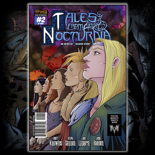 TALES FROM NOCTURNIA - Issue #2 of 3 (Drew Pritchett Cover: 'Stable Maidens')