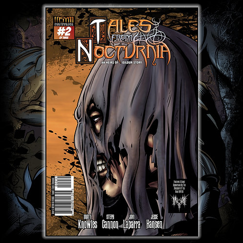 TALES FROM NOCTURNIA - Issue #2 of 3 (Silverbax Cover: 'Faceoff' R Benonoch)