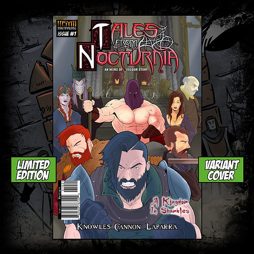 TALES FROM NOCTURNIA: Issue #1 (Limited Edition Variant C Cover)