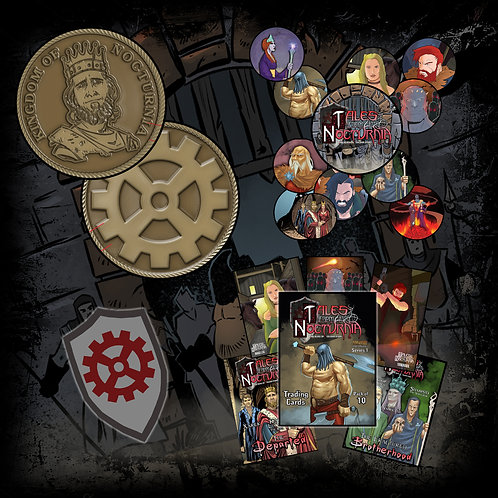 TALES FROM NOCTURNIA Collectibles pack!