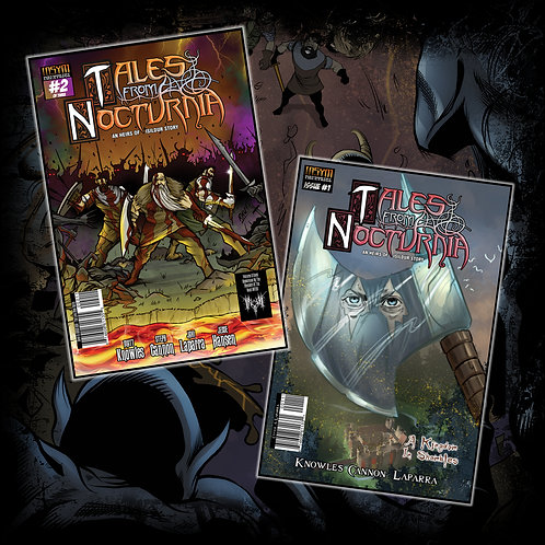 TALES FROM NOCTURNIA - Issue #1 & #2 (of 3)