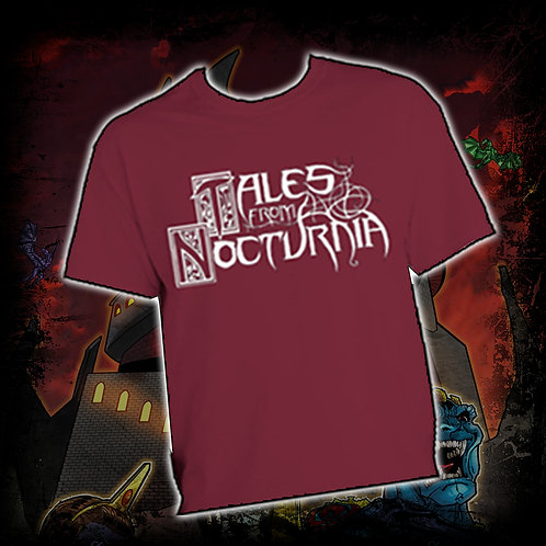 SHIRT - Tales From Nocturnia LOGO