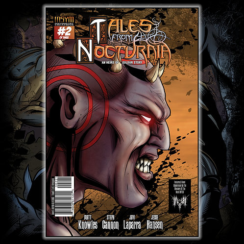 TALES FROM NOCTURNIA - Issue #2 of 3 (Silverbax Cover: 'Faceoff' L Verymynoth)