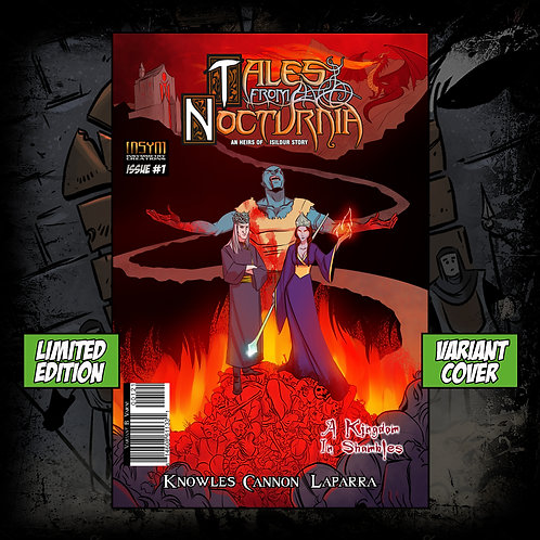 TALES FROM NOCTURNIA: Issue #1 (Limited Edition Variant B Cover)