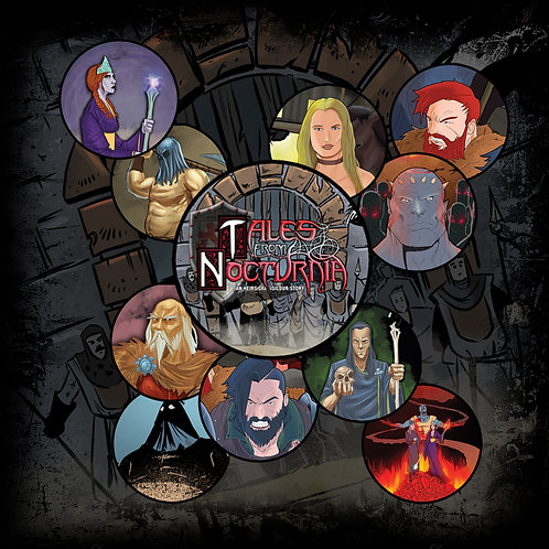 TALES FROM NOCTURNIA BUTTONS (12 Pack)