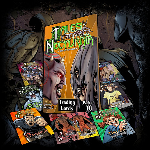TRADING CARDS: INSYM Series #3 (Tales From Nocturnia II)(10pk)