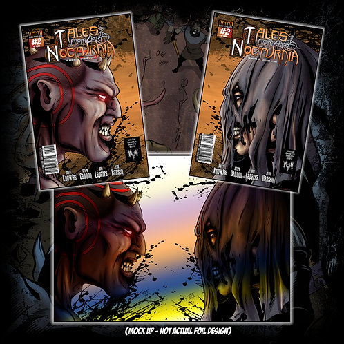 TALES FROM NOCTURNIA - Issue #2 of 3 (Silverbax 'Faceoff' collectors kit)